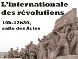 10h00 – L'internationale des révolutions