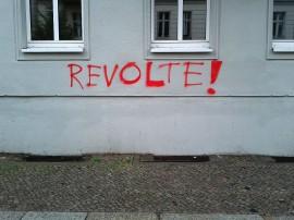 Mot du jour : révolte !