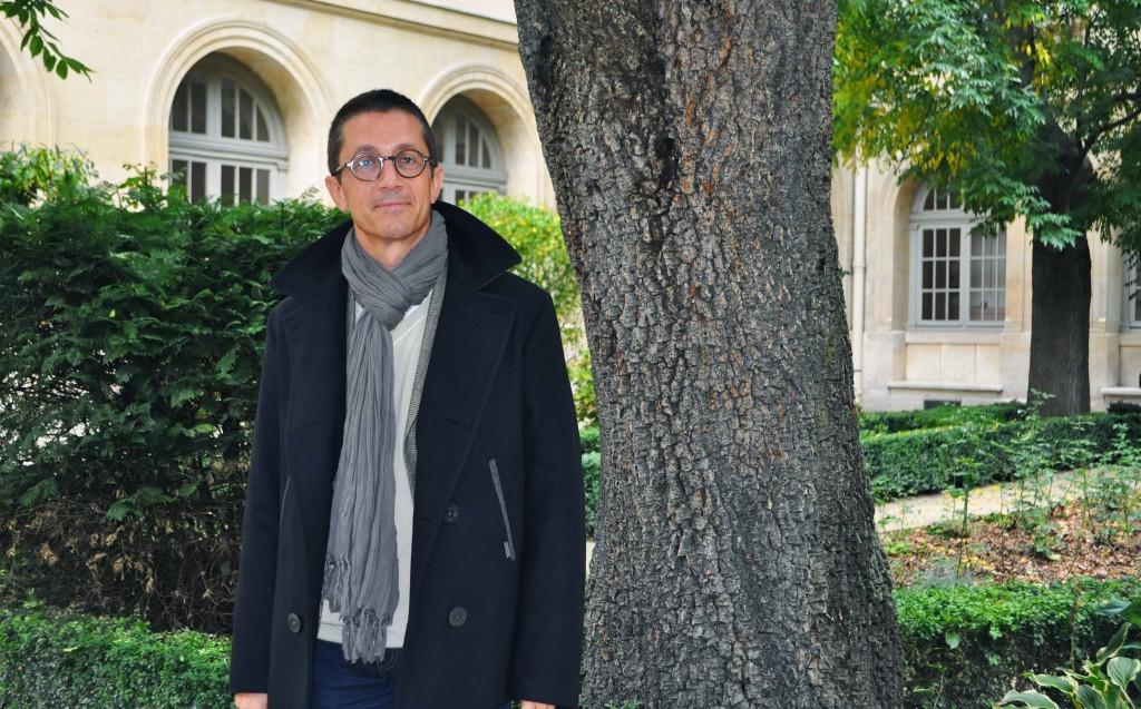Françis Prost est spécialiste de la Grèce antique. Crédit photo : Robin Verner