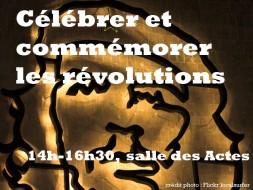 14h00 – Célébrer et commémorer les révolutions