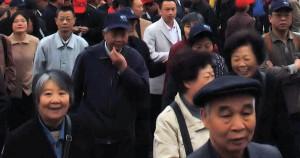 Photo : foule de chinois (Crédit: Kenno McDonnell)