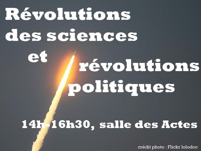 révolution scientifiques
