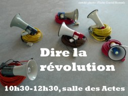 10h30 – Dire la révolution