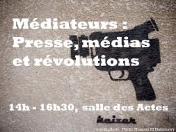14h00 – Médiateurs: presse, médias et révolutions